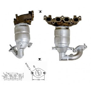 FORD FUSION 1.25i 16V  ZH12 Colector 03-05