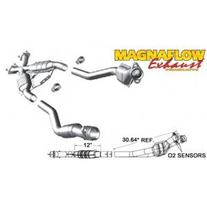 FORD MUSTANG V8 5.0L X- Pipe Assembly 94-95